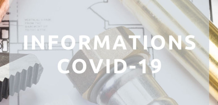 Informations Covid-19 Artisan du Nord Lille